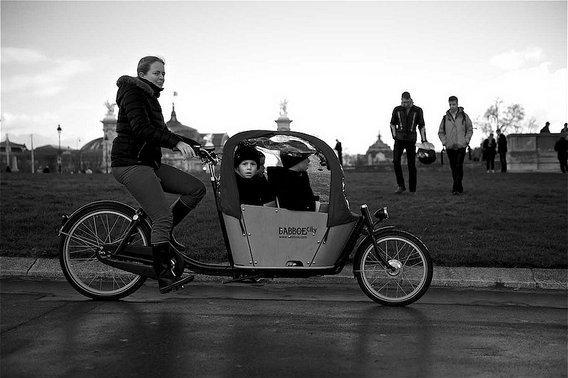 subvention vélo cargo Paris