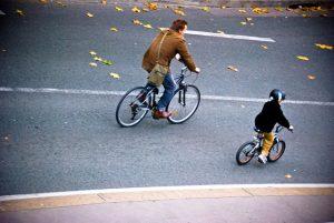 Observatoire Plan Vélo - Homme et Enfant à vélo