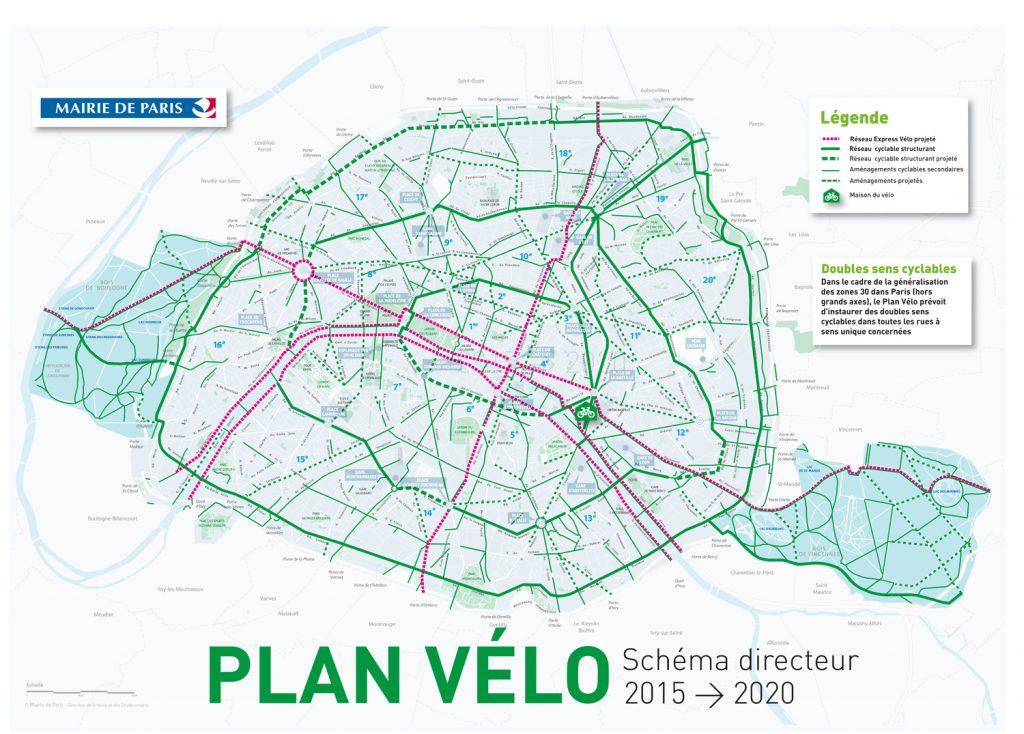Schéma directeur du Plan Vélo 2015-2020