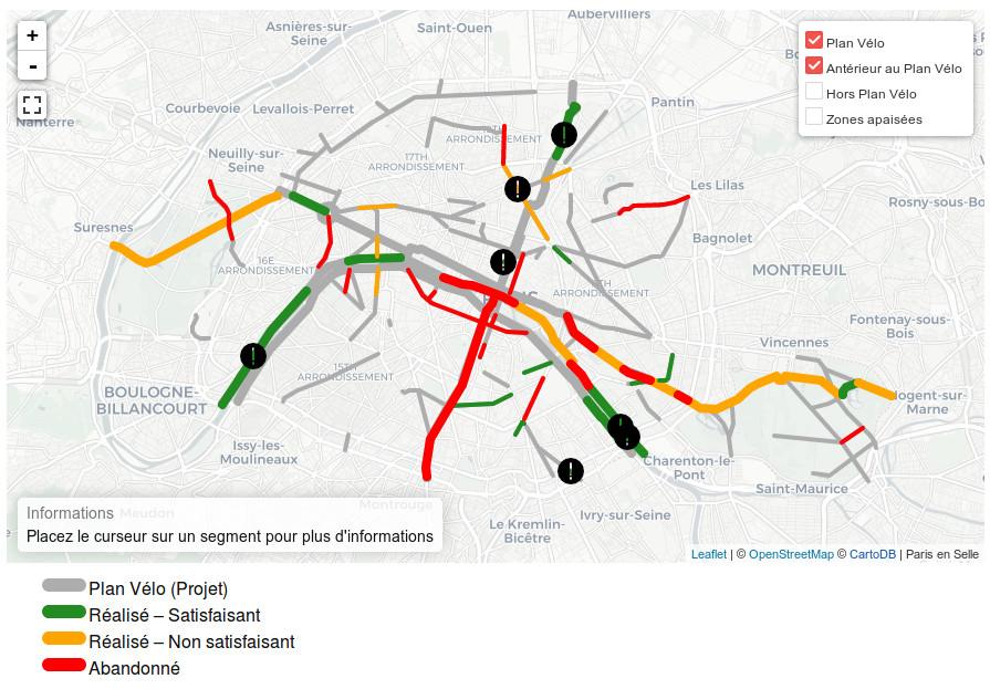 Observatoire du Plan Vélo de Paris