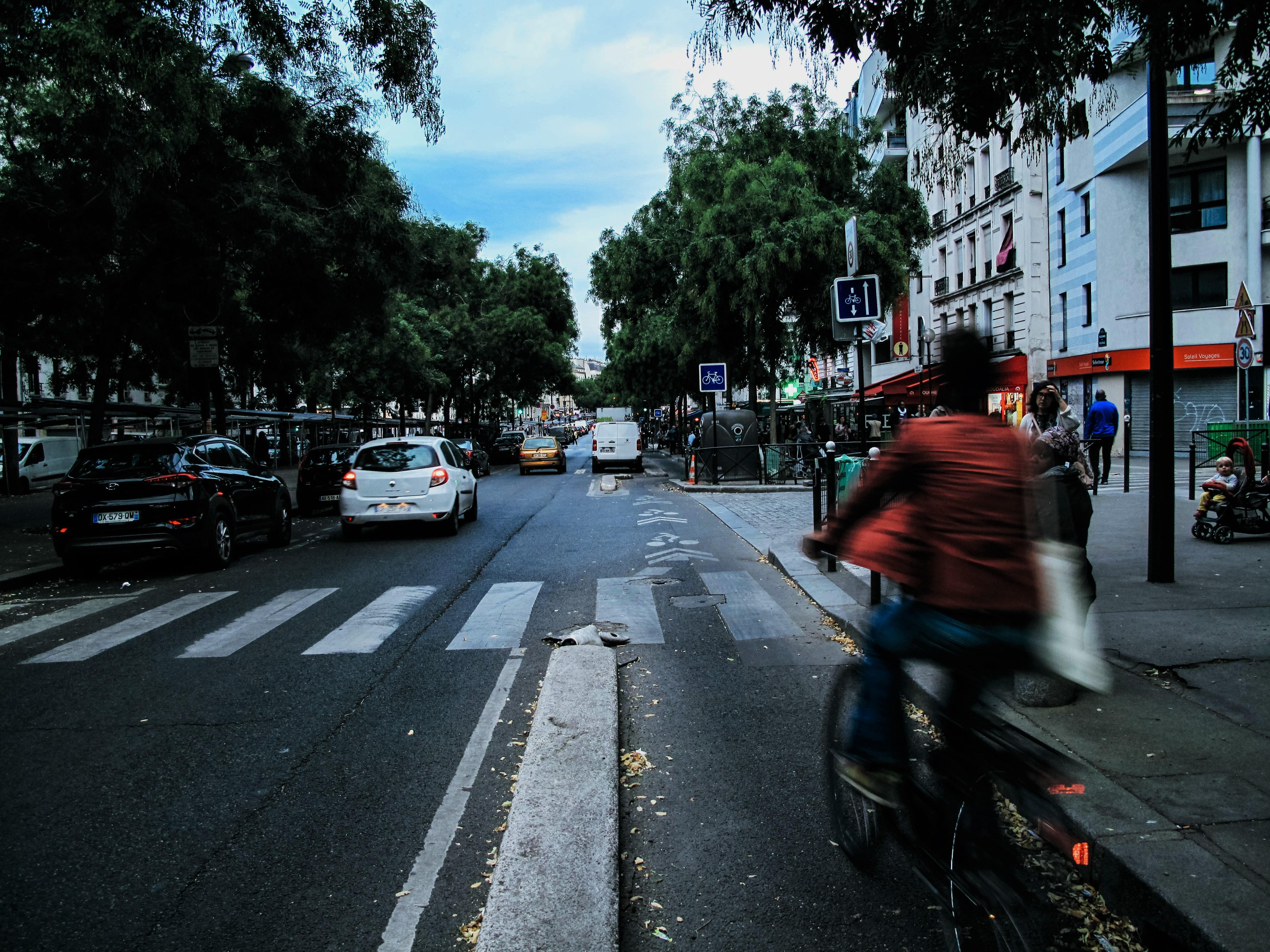 Non à la suppression de la piste cyclable !